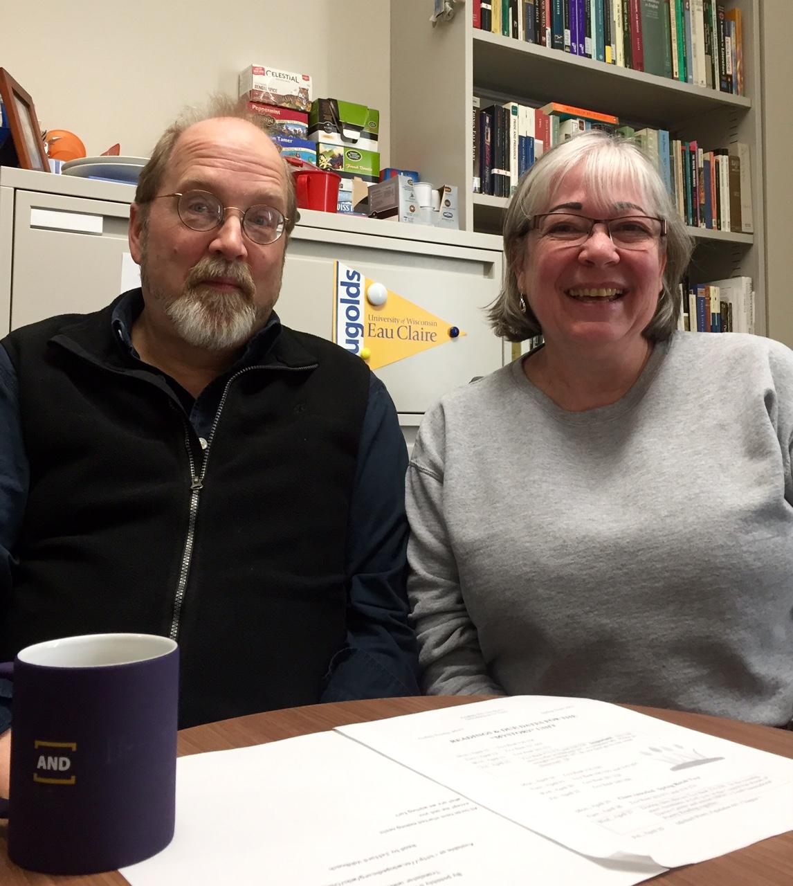 Jeff Vahlbusch and Audrey Fessler