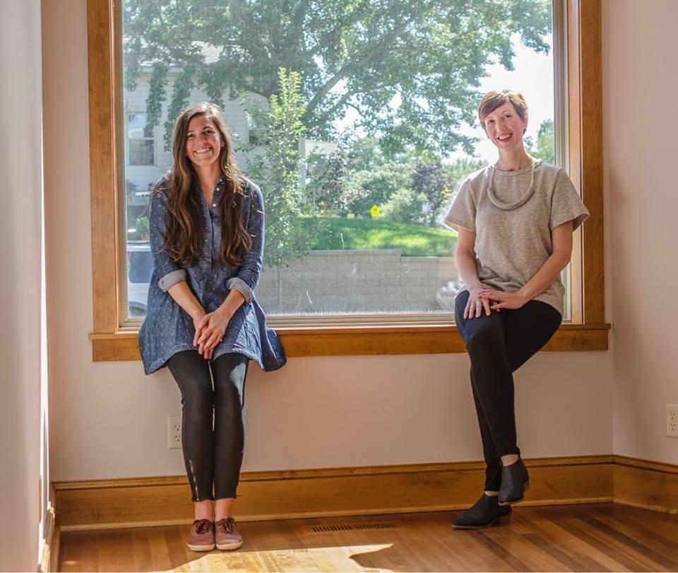 Dotters Books co-owners Margaret Leonard (left) and Jill Heinke Moen (right)  credit: Drew Kaiser