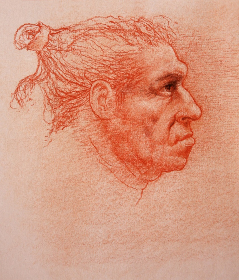 Neandertal male, from  Lost Anatomies  by John Gurche.