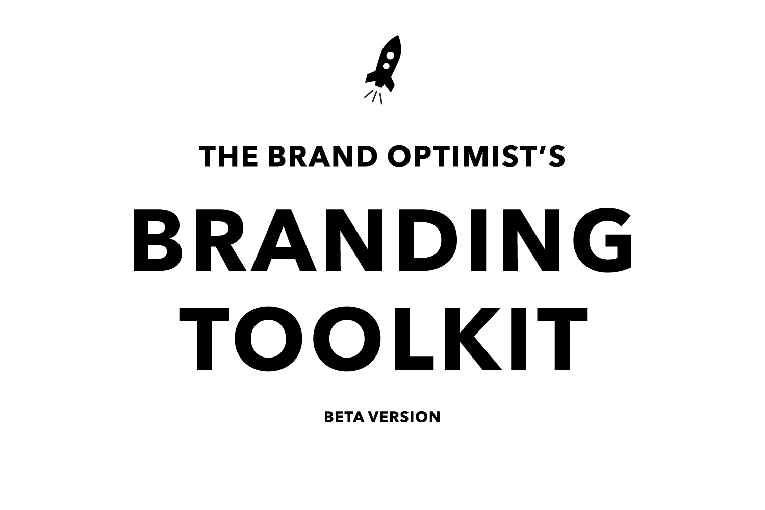 Brand Optimist branding toolkit