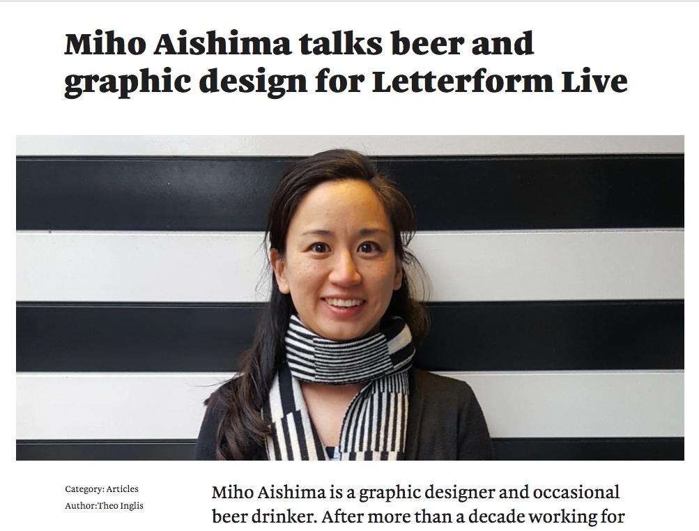 Miho Aishima Monotype