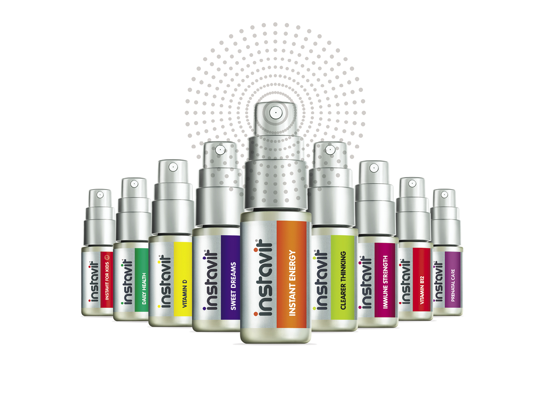 Instavit oral spray supplements