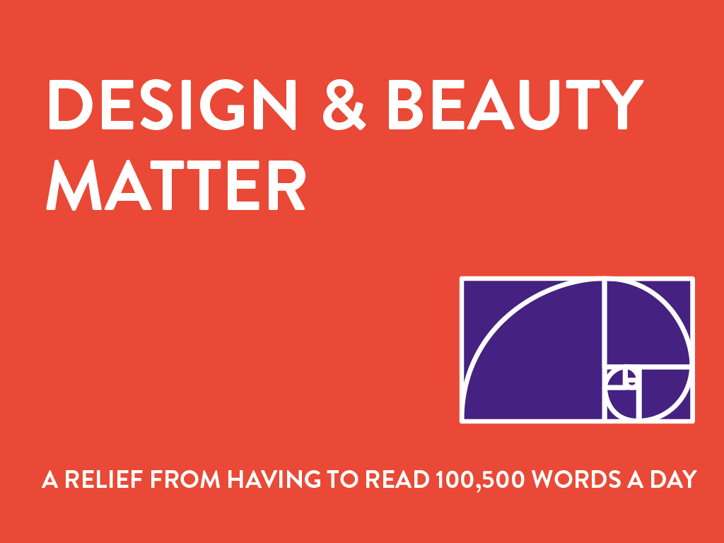 Good Stories 2017_Design and beauty matter