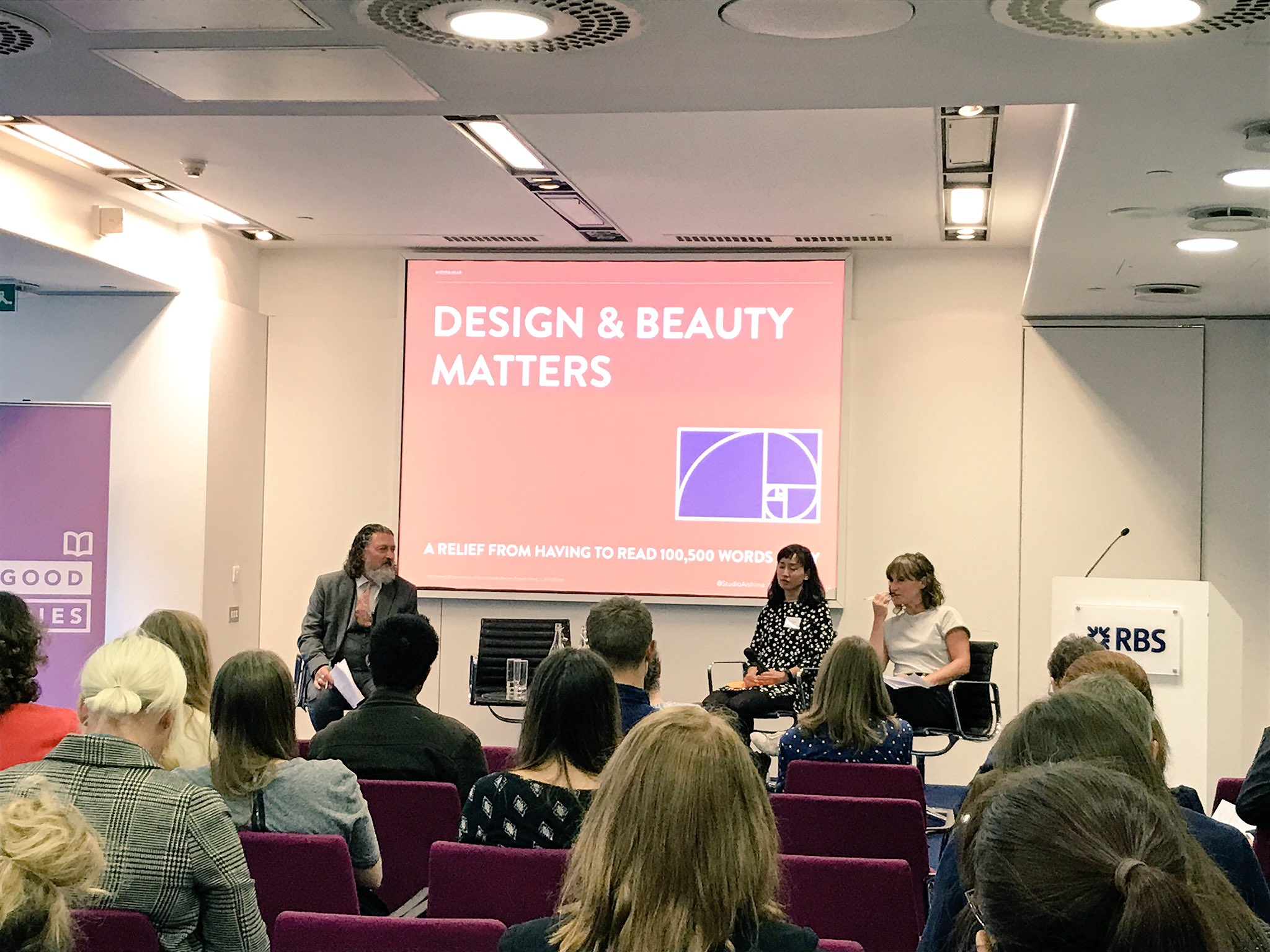 Miho at the Building Brilliant Brands panel – photo by Coventry University Social Enterprises