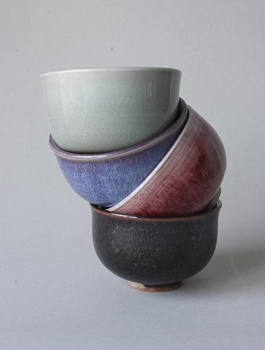 bols à thé en grès et porcelaine