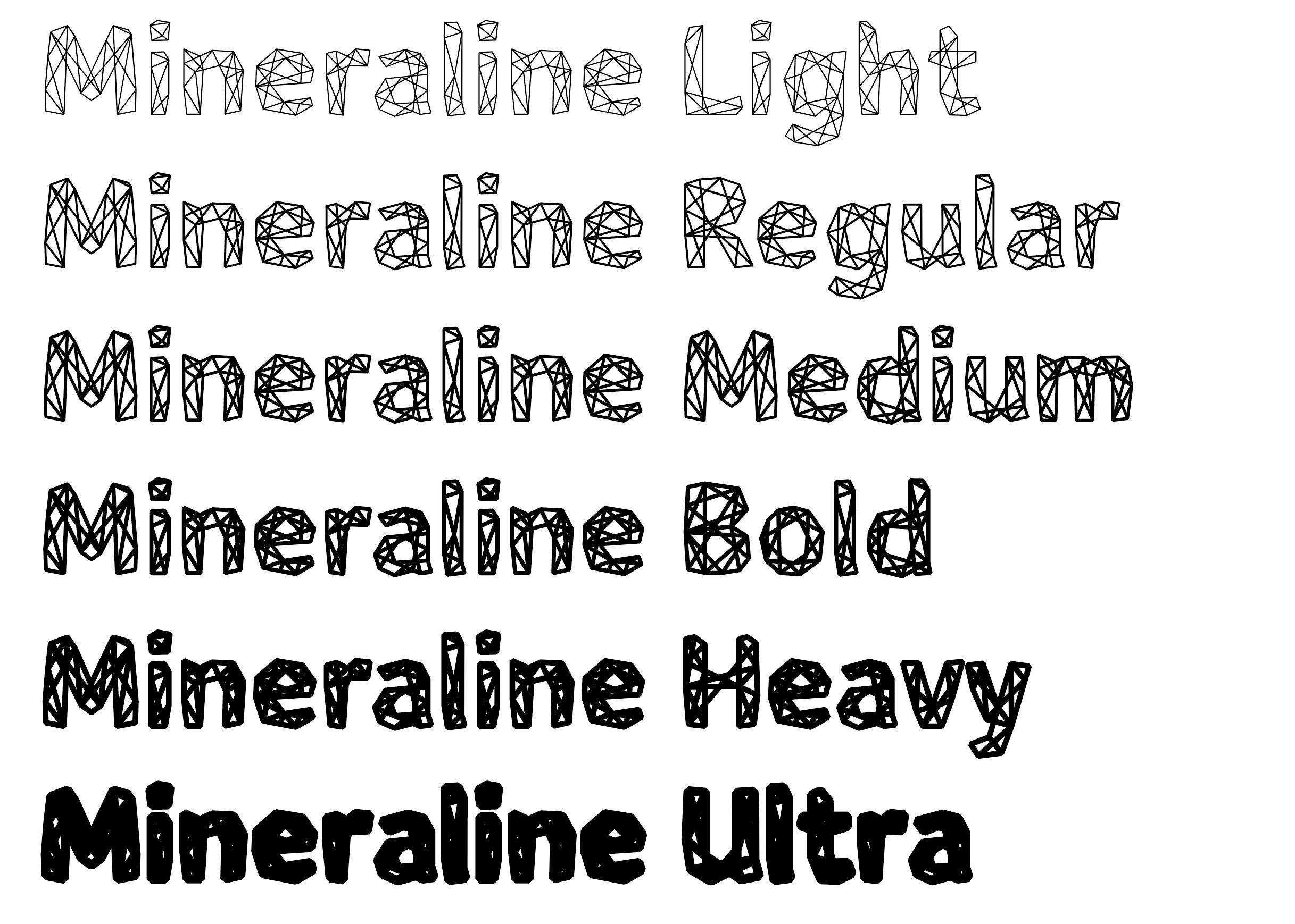Mineraline weights