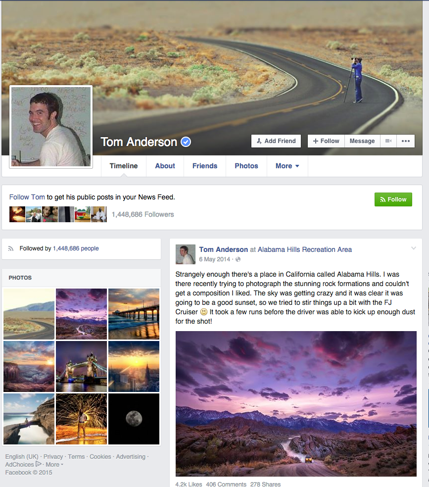 We wonder if Mark Zuckerberg still uses Myspace?