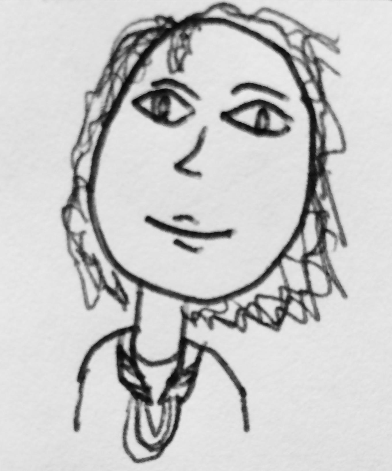 """Portrait of Jamie"" by Elliot, Age 11"
