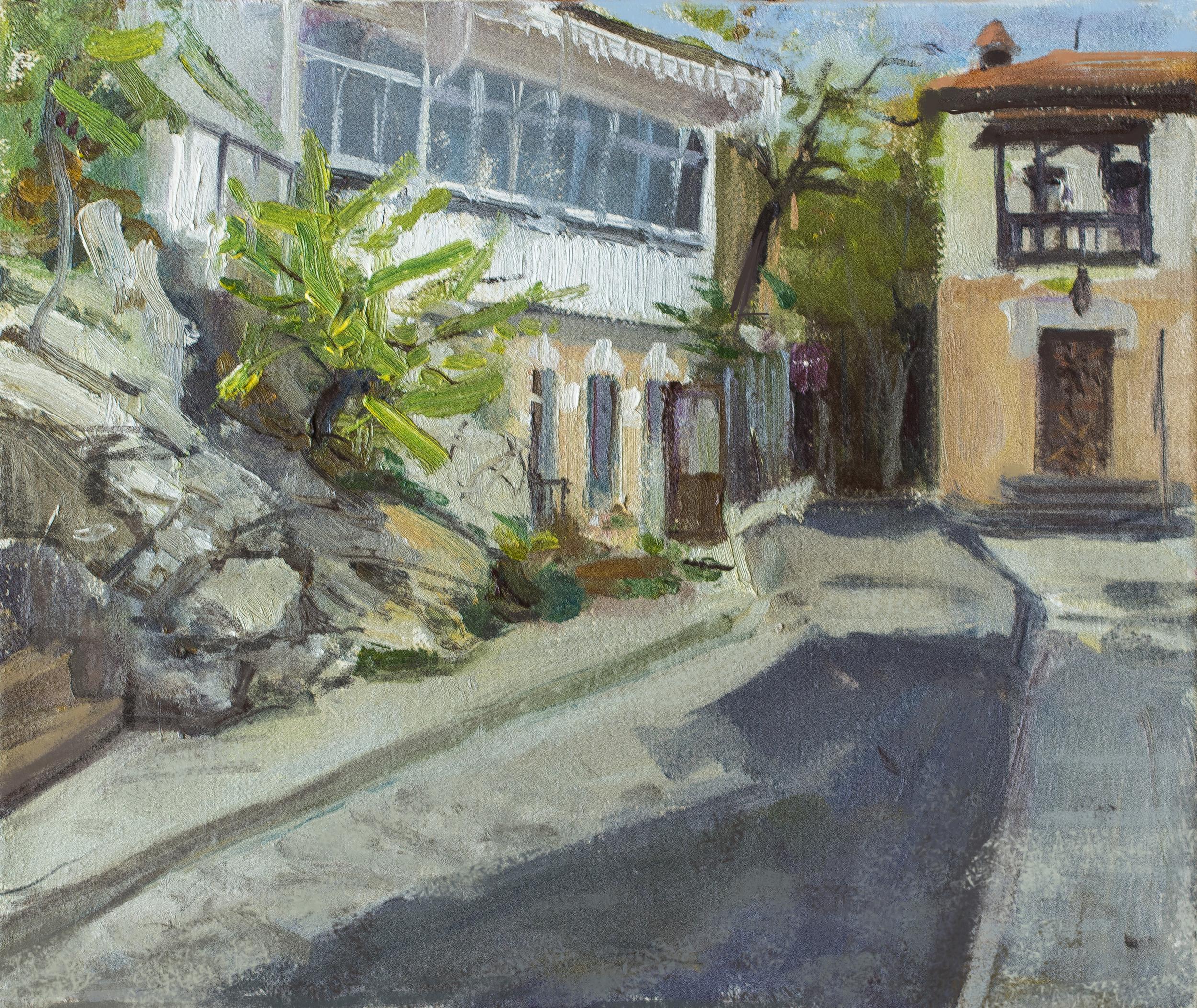 Old street in Gurzuf