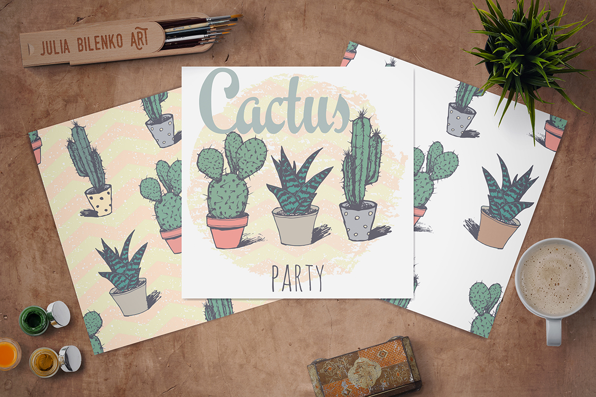 New illustrations on Creative Market