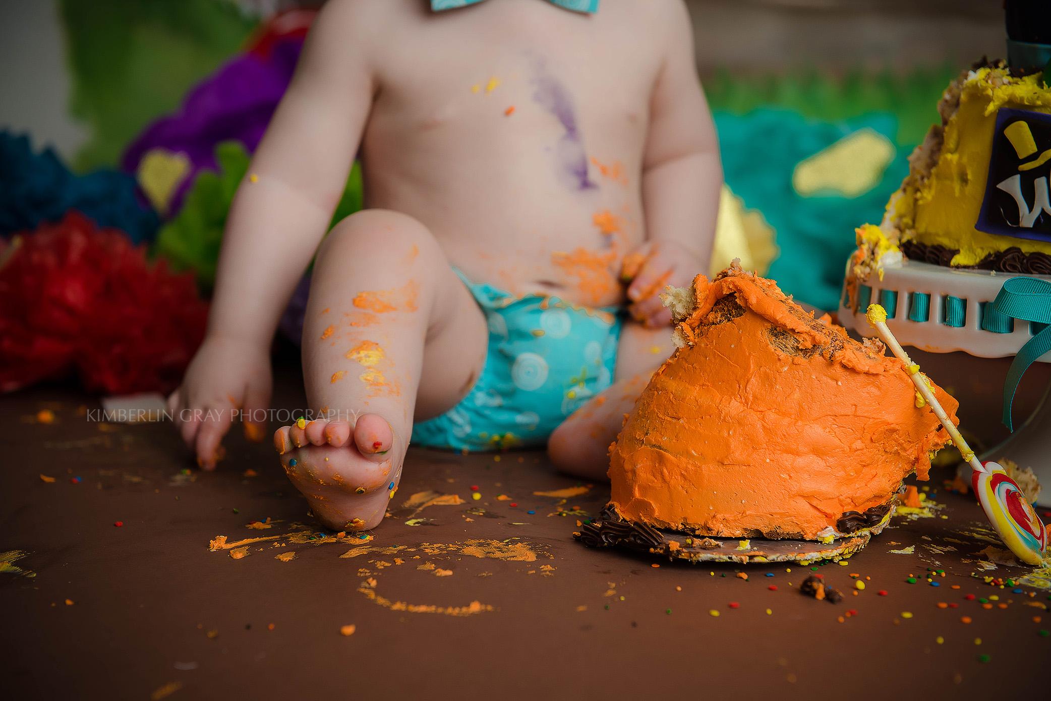 Cake Smash Toes Virginia Beach