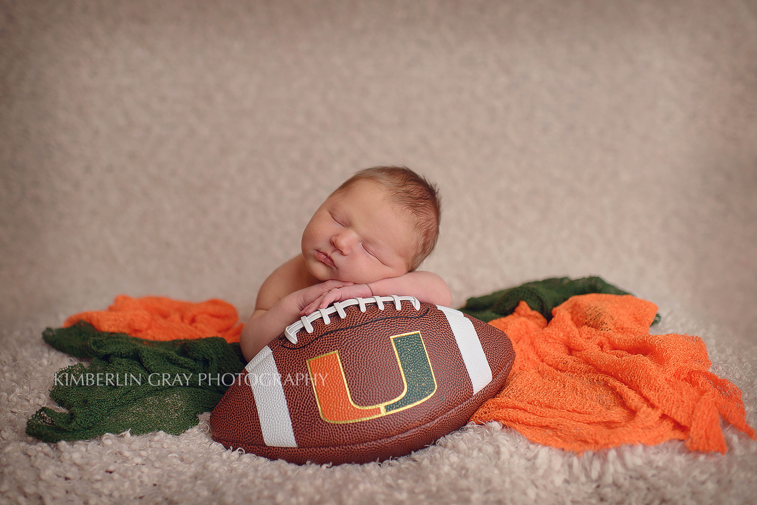 Football Newborn Photoshoot Norfolk Newborn Photographer