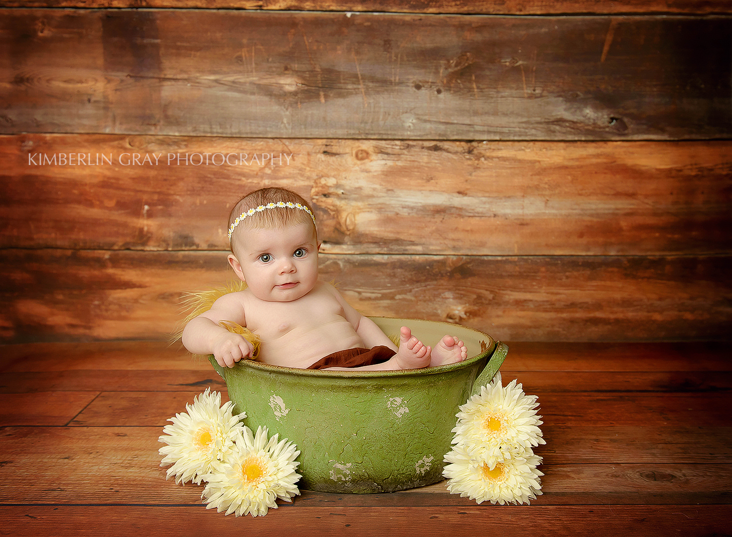 baby in a wash tub Virginia Beach photographer