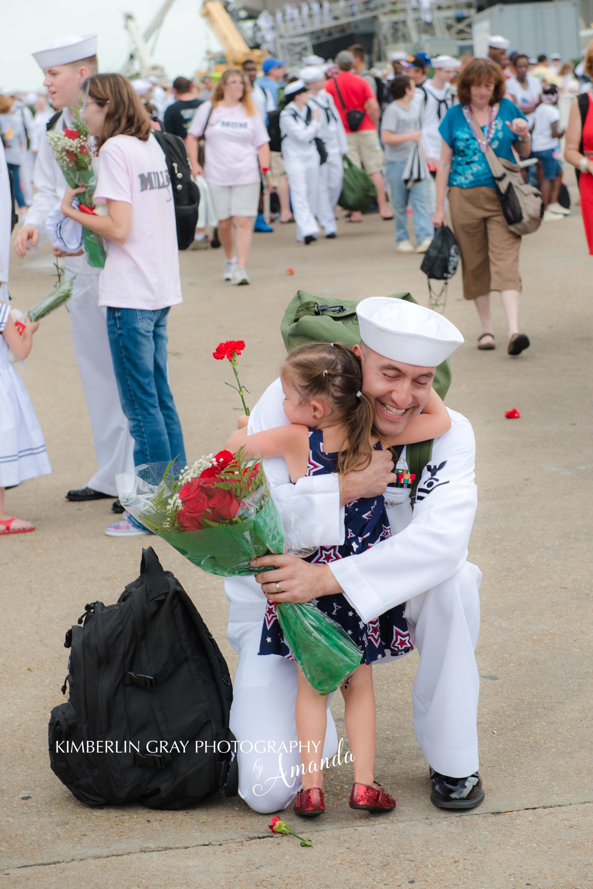 Norfolk Naval Base Homecoming