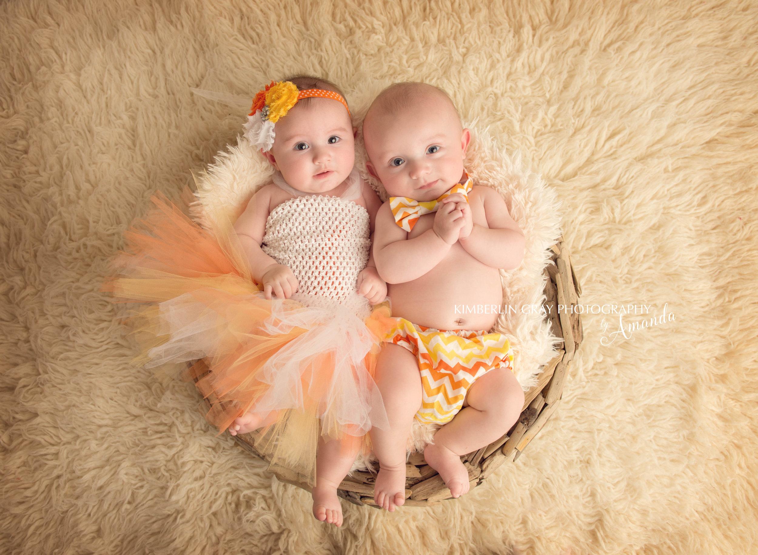 virginia beach twin baby photographer