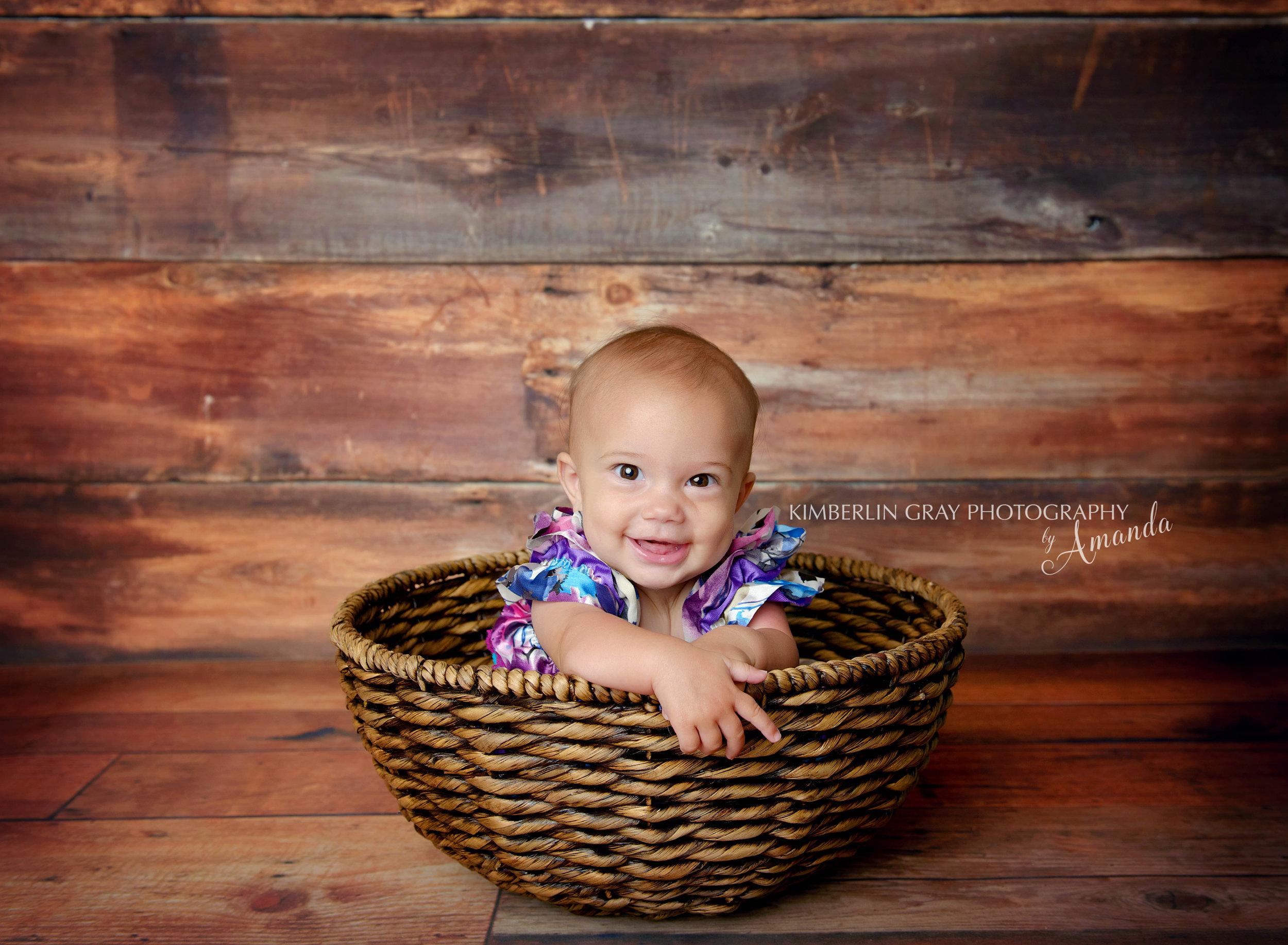 six month virginia beach baby photographer