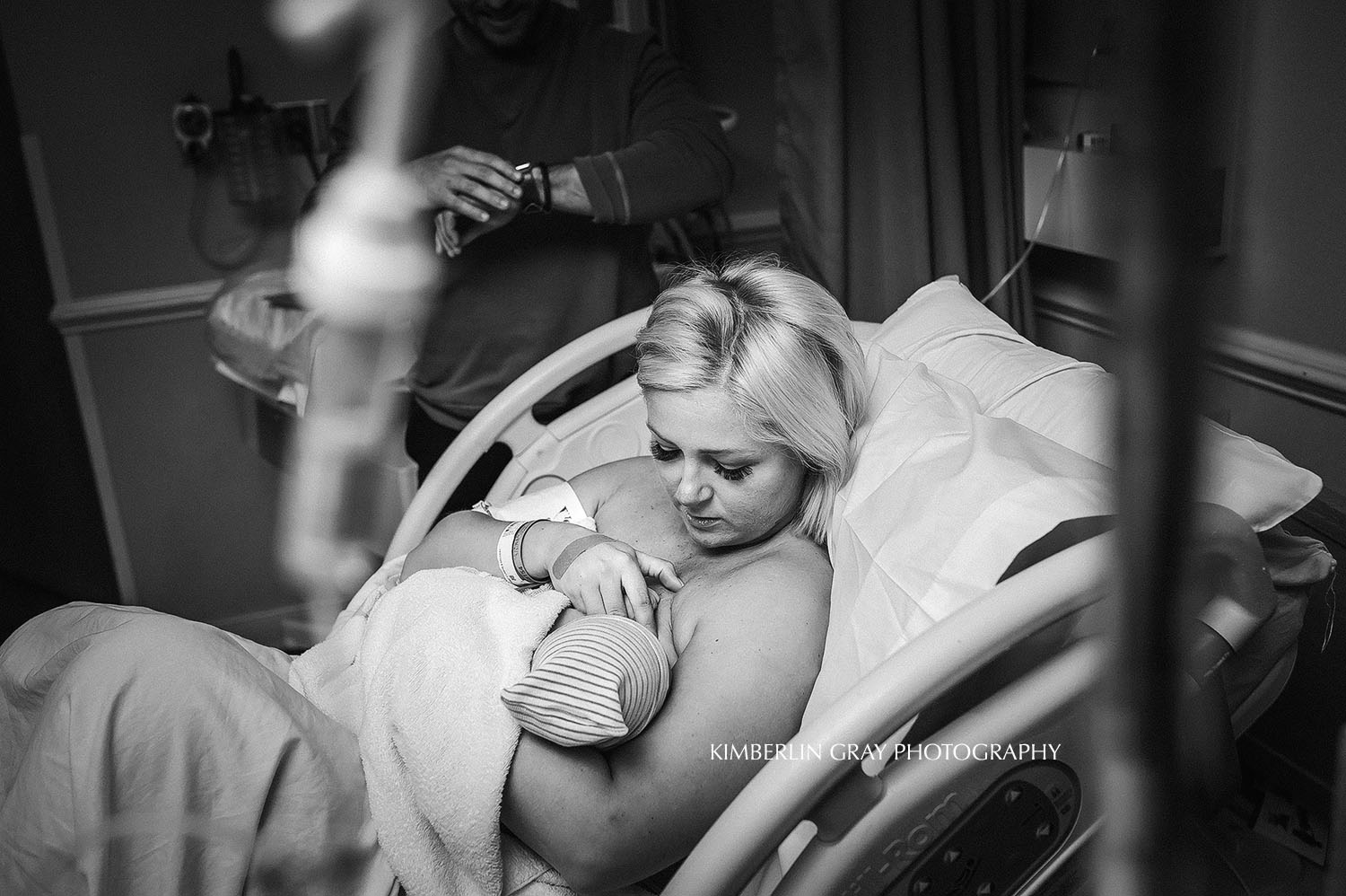 First Breastfeeding Birth Photography Norfolk Virginia