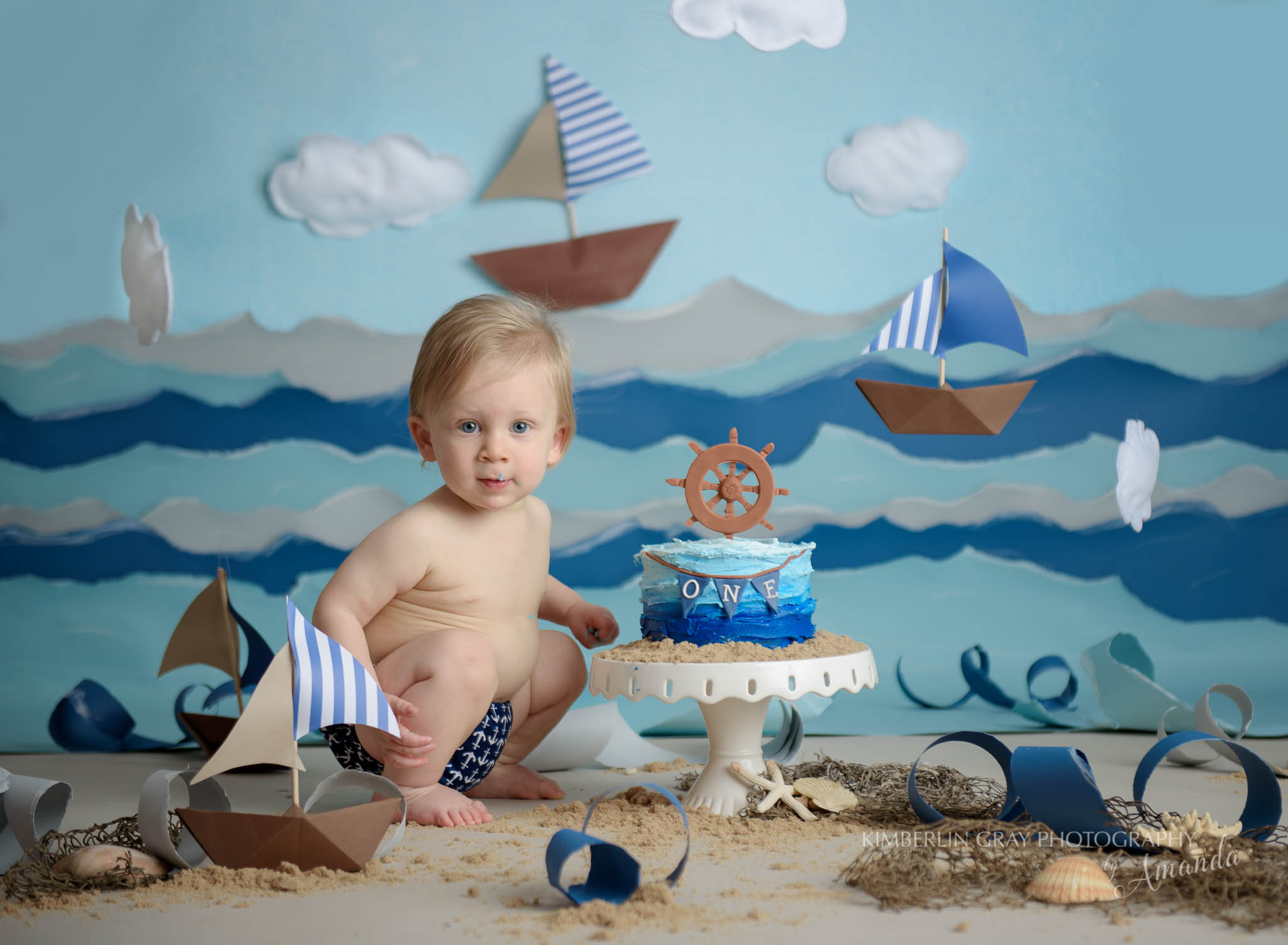 Nautical Cake Smash Virginia Beach