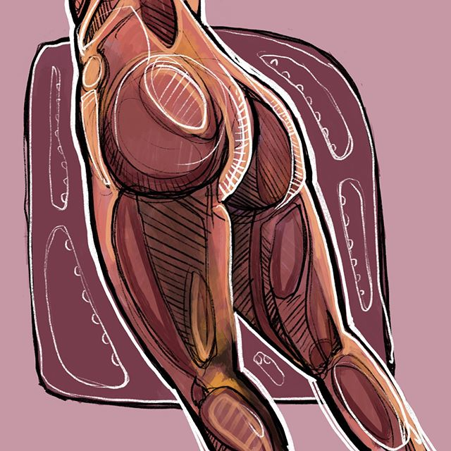 Digital Booty! Turns out I can still draw the booty...DM me to collaborate / contribute!⁣ .⁣ .⁣ .⁣ .⁣ .⁣ #artcollector #boudoir #artcollectorworld #drawing #digitalart #contemporaryart #artcollectorsofig #digitalpaintingportrait #portraitpainting #illustration #digitalsketch #sketchbookart #portrait #portraitsla #portraitart #justsketch #drawanyway #art_collective #erotic #artmagazine #draw #sketchbook #sketch #instaartist #procreate #erotica #figurative #atlanta #atlartist #illustrationartist