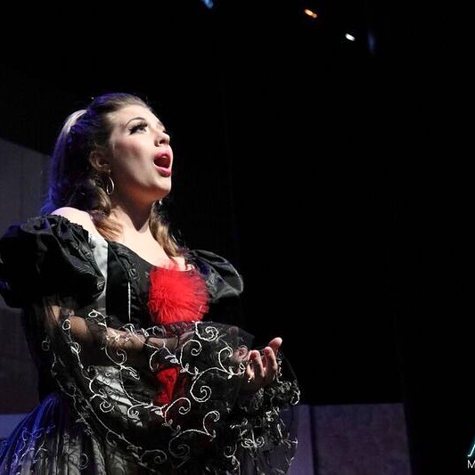 Flash back to a year ago today when I sang my first performance as Zerbinetta in Ariadne auf Naxos with @miamimusicfest. Who would have known that in just one year I would go on to learn and perform four new roles! I am just so grateful for all the great things that happened this past year and look forward to seeing what happens this year as I finish grad school and do my first full audition season. #wishmeluck #singerlife #operasingersofinstagram #grateful #godisgood #godisgoodallthetime #zerbinetta #ariadneaufnaxos  Photo Credit: Angelica Perez