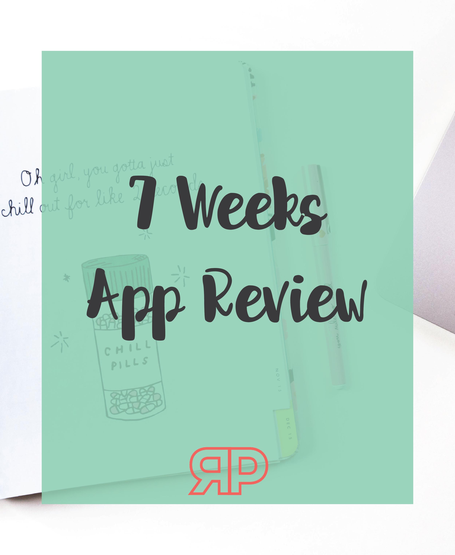 7 Weeks app review | Rourke Planners