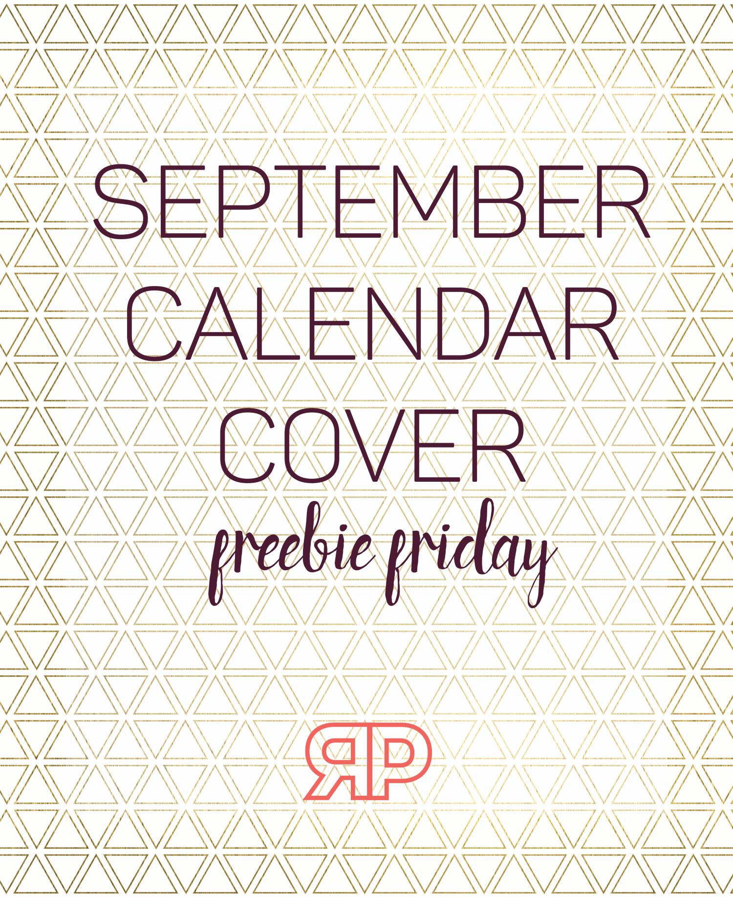 September 2016 Calendar Cover | Rourke Planners
