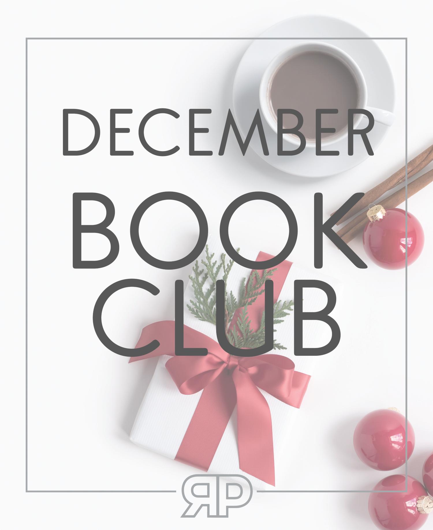 December Book Club   Rourke Planners
