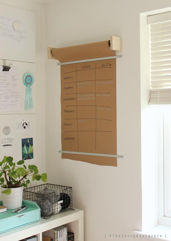 TheEverydaySpruce-brown-paper-wall-planner-Growing-Spaces.jpg