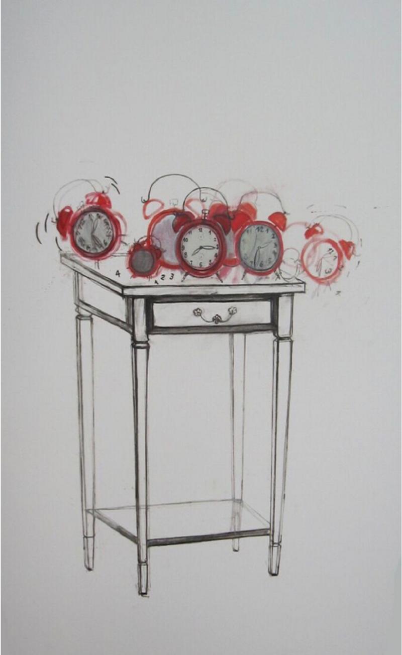 Nemanja Golijanin |Honey, you are so late | Oil on canvas, 150x100cm | £2350