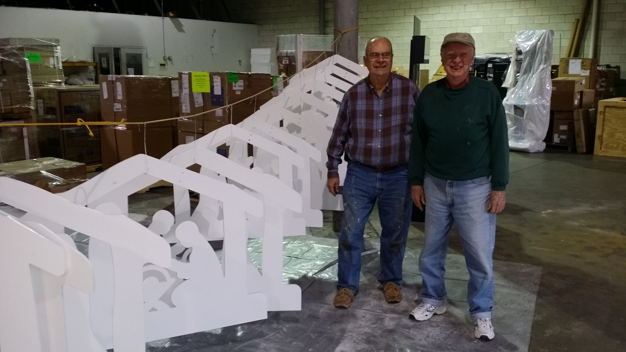 Roy Ambler and John Quinn at Warehouse Paint Shop.jpg