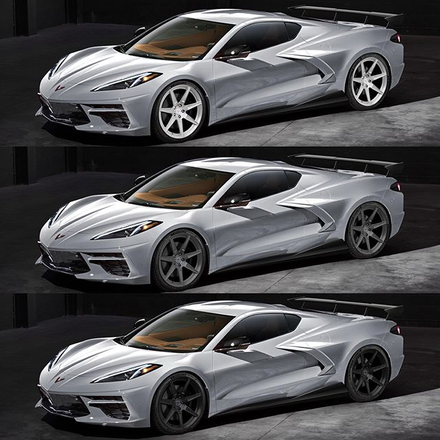 Top, Middle or Bottom? Testing wheel finishes for a client's incoming C8 Corvette 😎👍🏻 @mrrwheels #corvette #corvettec8 #c8corvette #c8 #chevrolet #supercars