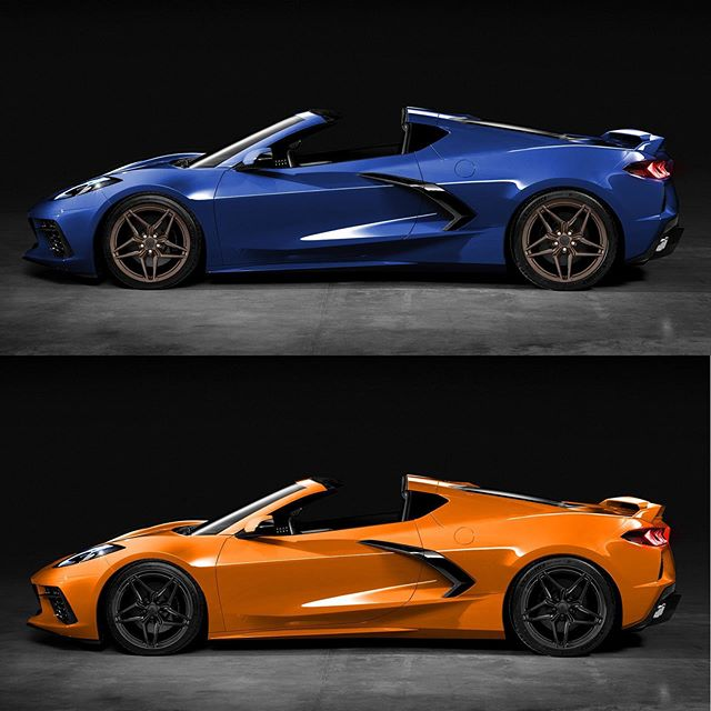 Top ⬆️ OR ⬇️ Bottom? Cataloging some @mrrwheels M755's on the new C8 Corvette. Love the look of these, really sets the car off especially with such poor factory wheel options from Chevy. More to come! #corvette #corvettec8 #c8corvette #c8 #chevrolet #supercars