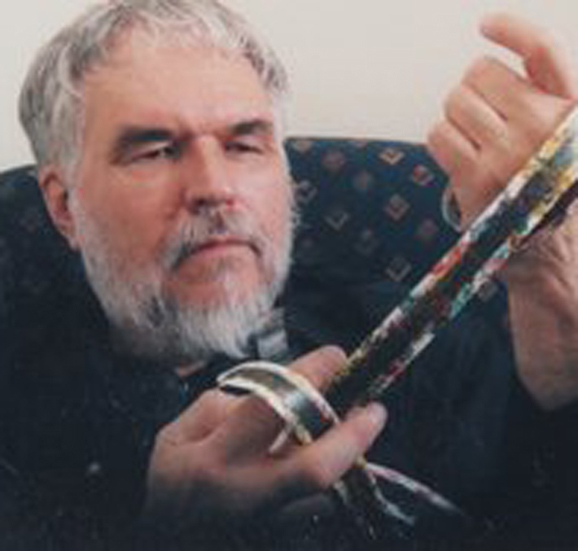 My former professor and Experimental film extraordanaire, Stan Brakhage.
