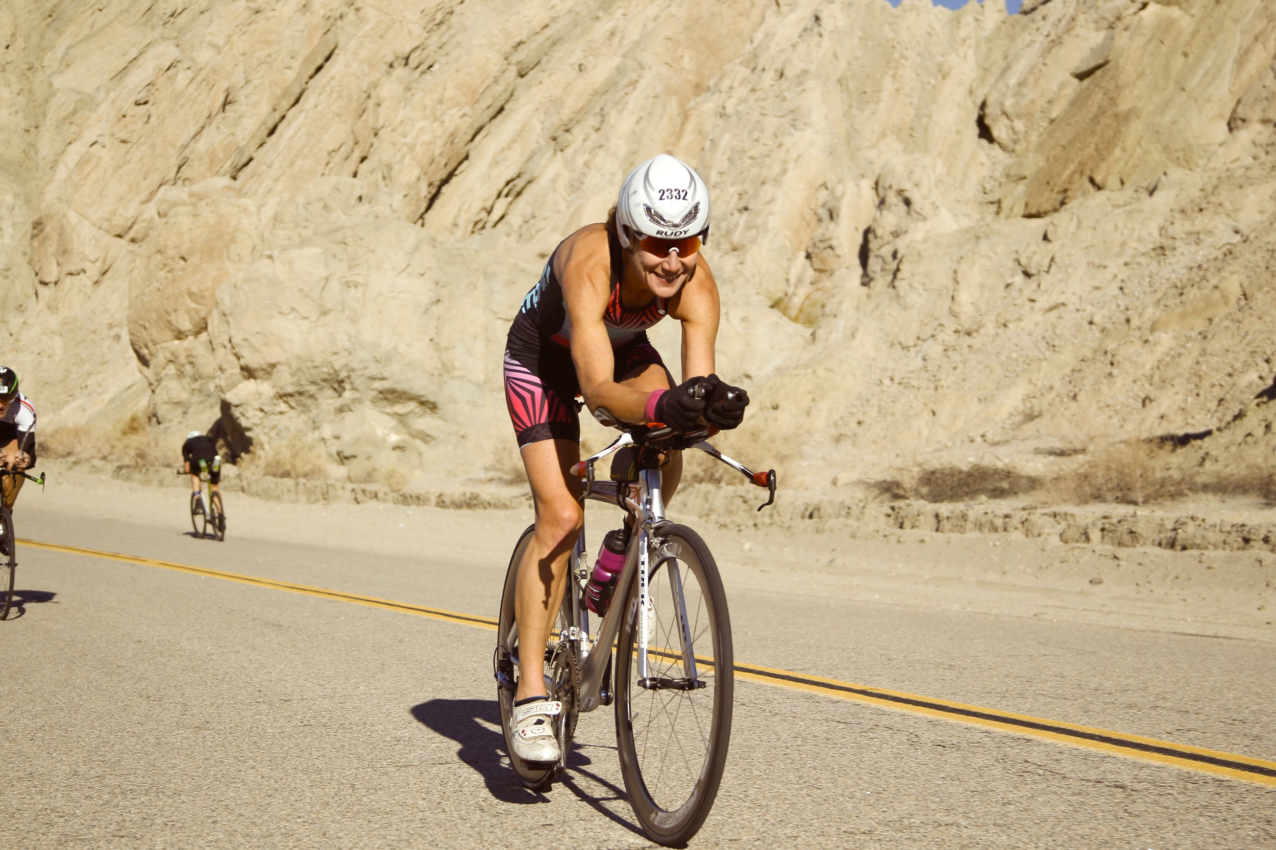 The final race on my Trek, the HITS Half-Ironman this past December.