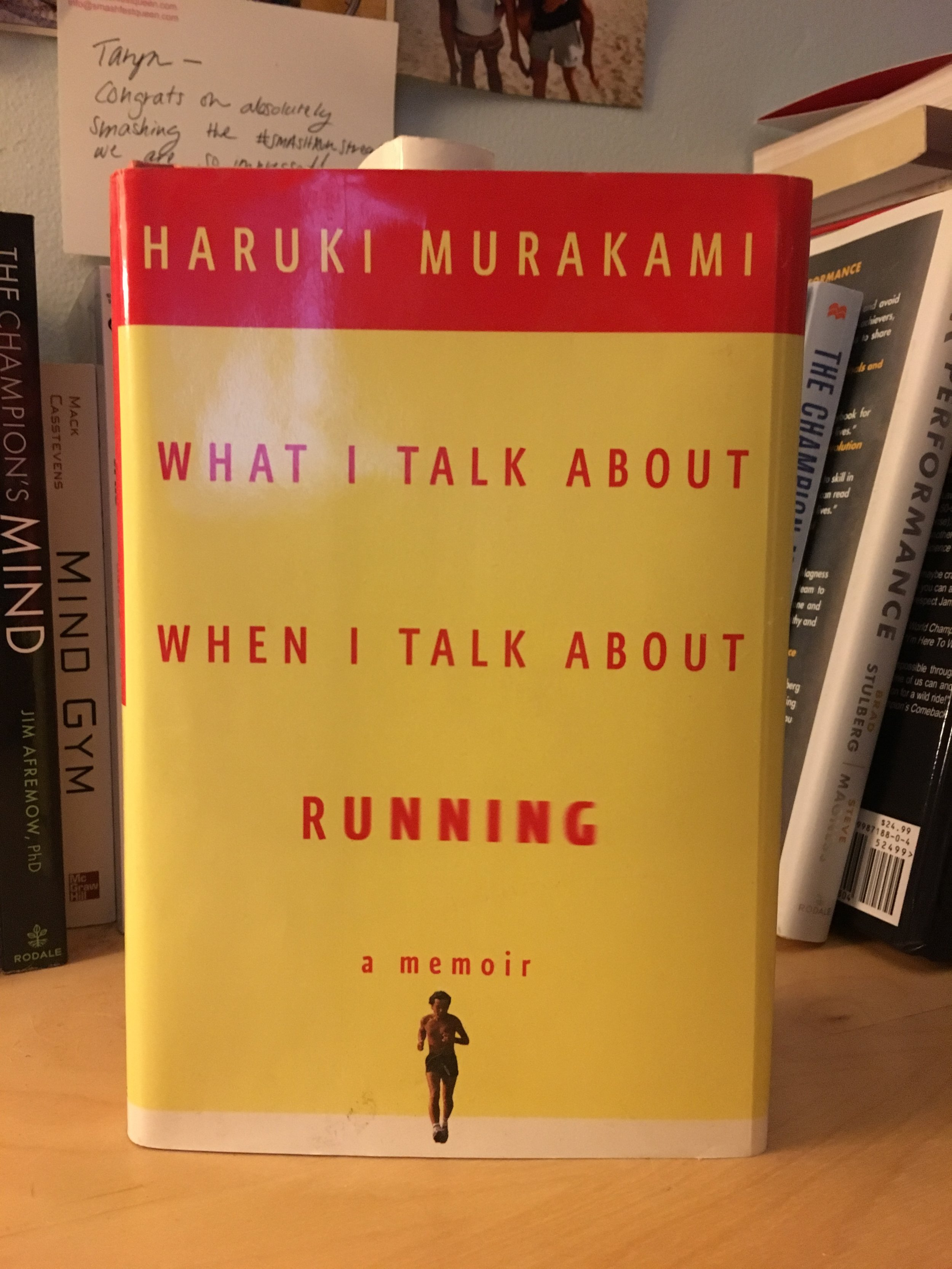 This is my favorite book about running.