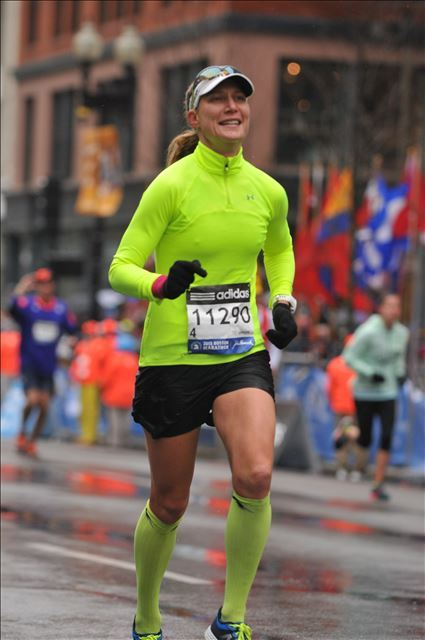 The last time I ran Boston, 2015. It was cold, rainy, and wonderful.