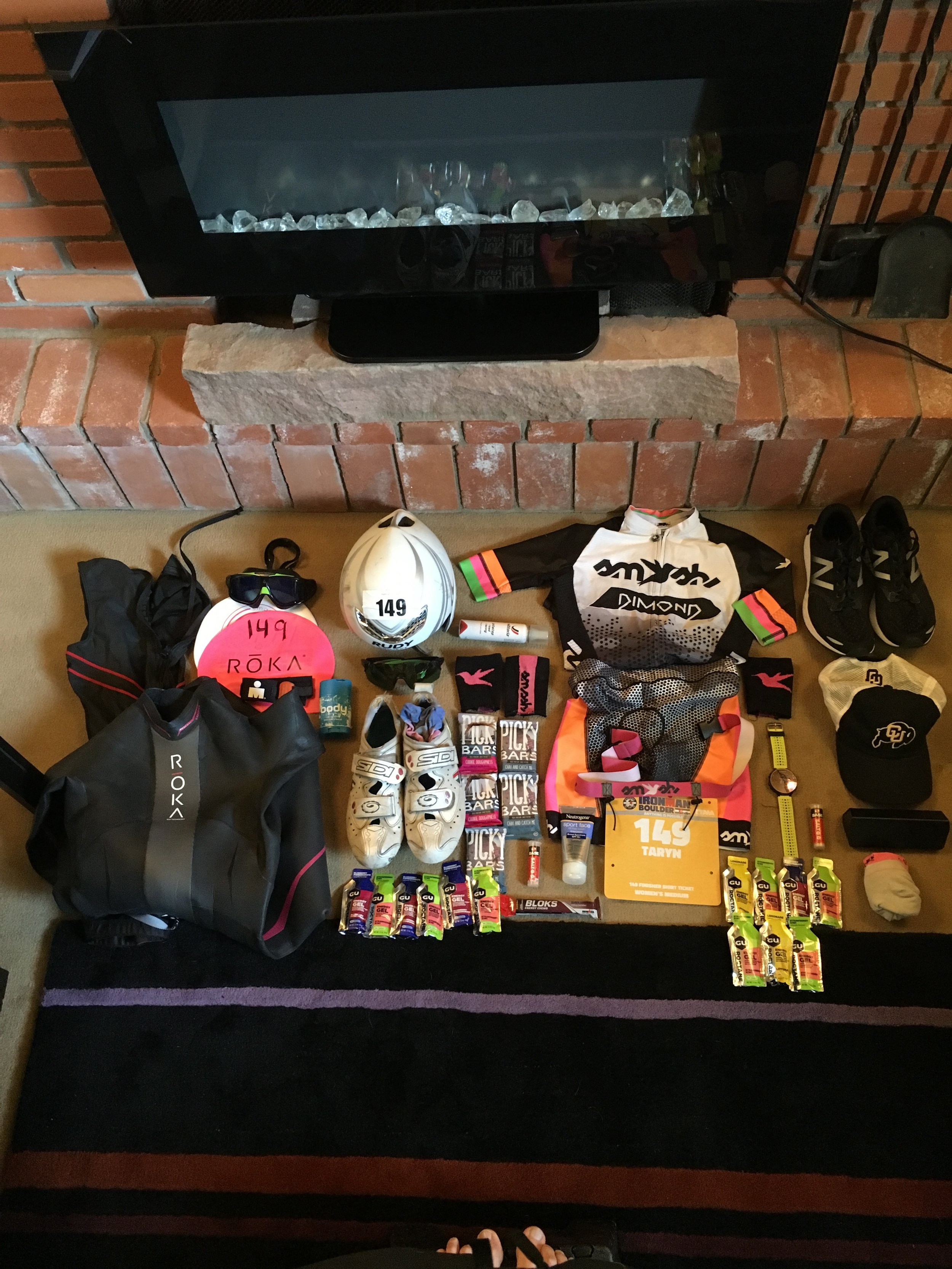 Any sport that requires this much gear is both a dream and a nightmare.