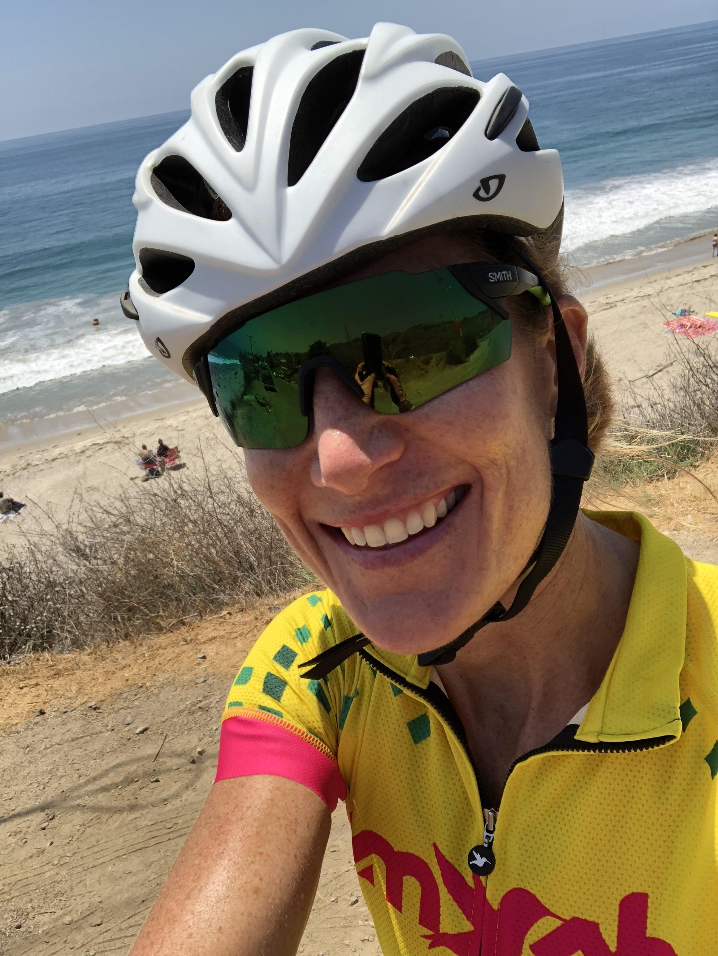 Ninety miles into a 101 mile bike ride along PCH.