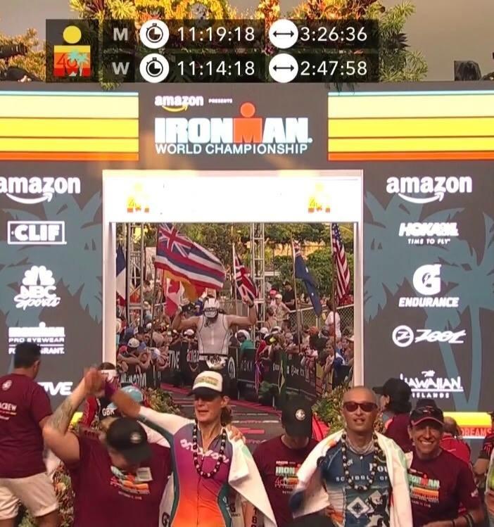 IMWC finish line. Photo credit goes to Angi Harrison.