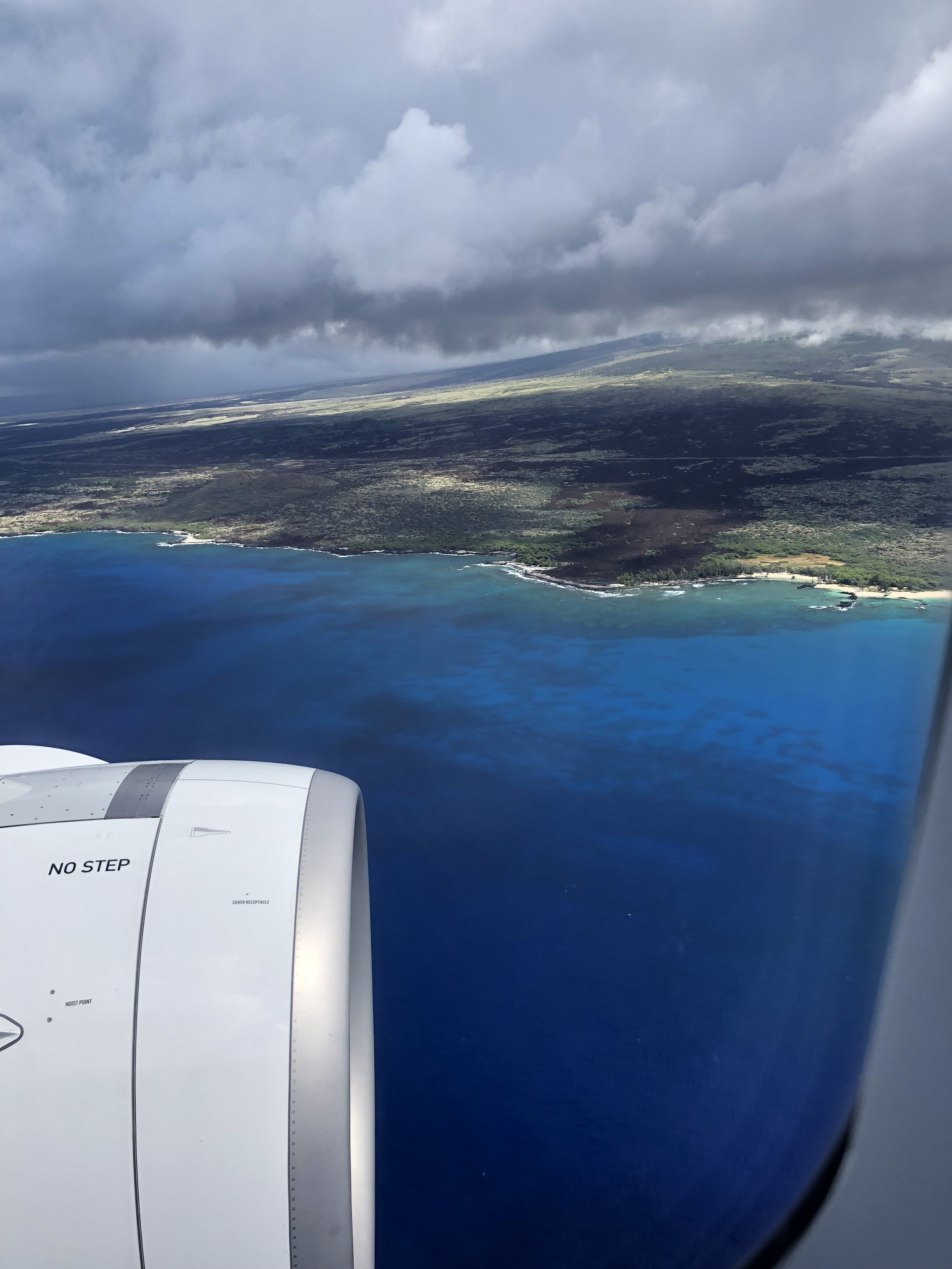 My first glance at Hawaii's largest plot of land. October, 2018.