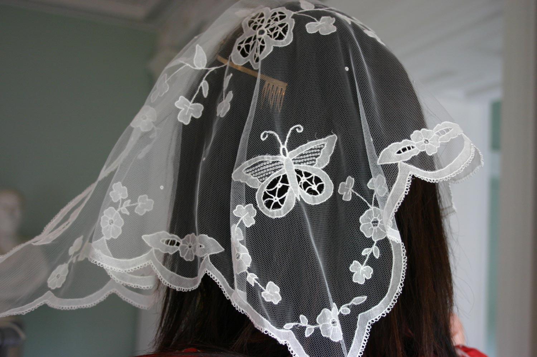 Carrickmacross First Communion Veil