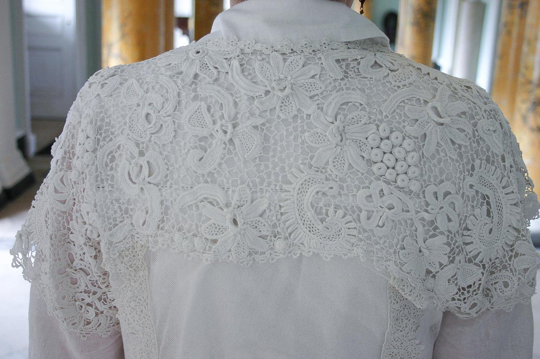 Irish Crochet detail