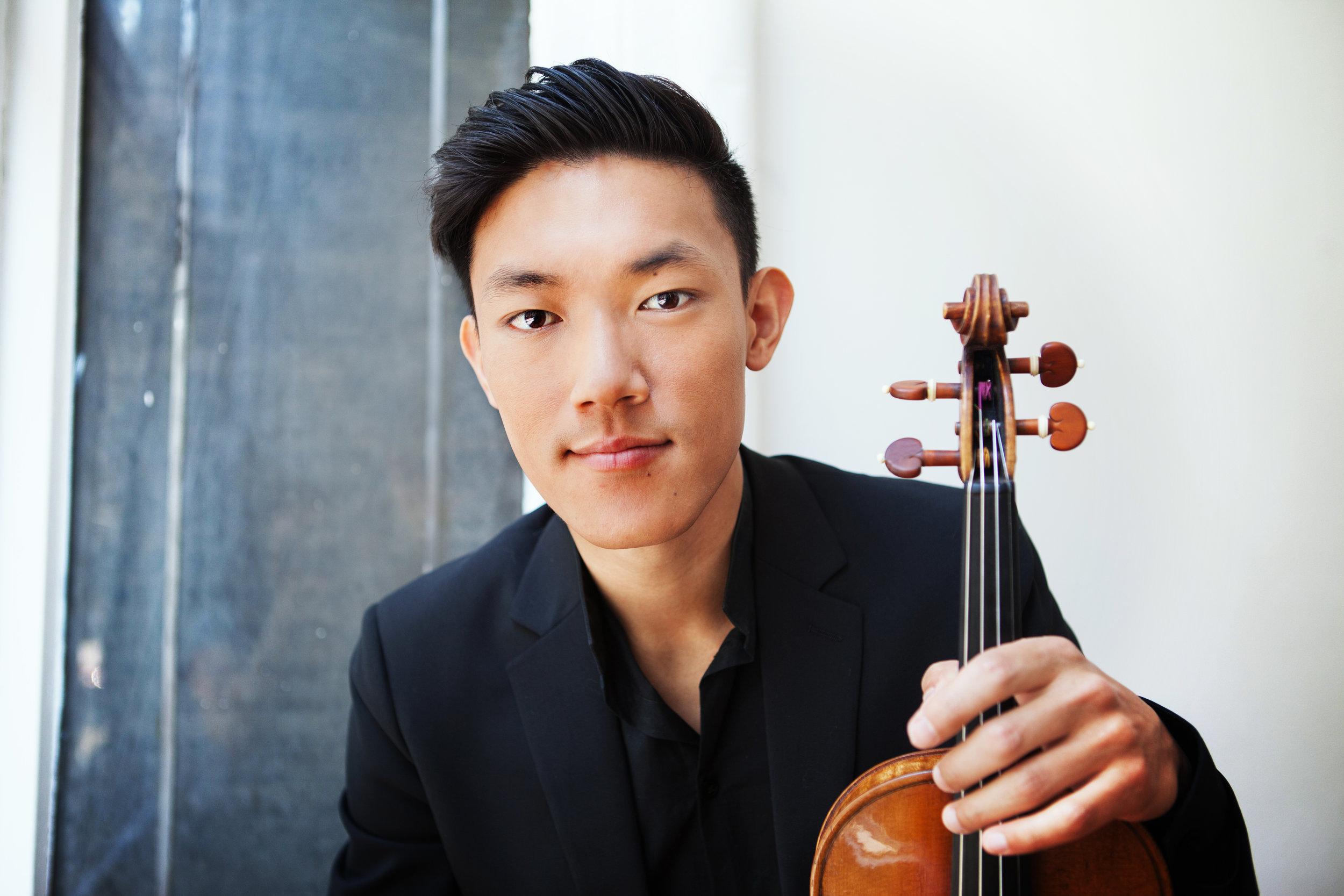 Daniel Chong of Grammy award winning Parker Quartet