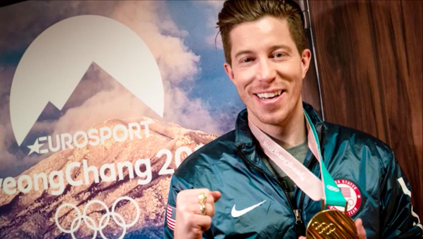 Shaun White for Eurosport Pyeongchang 2018 Winter Olympics in South Korea