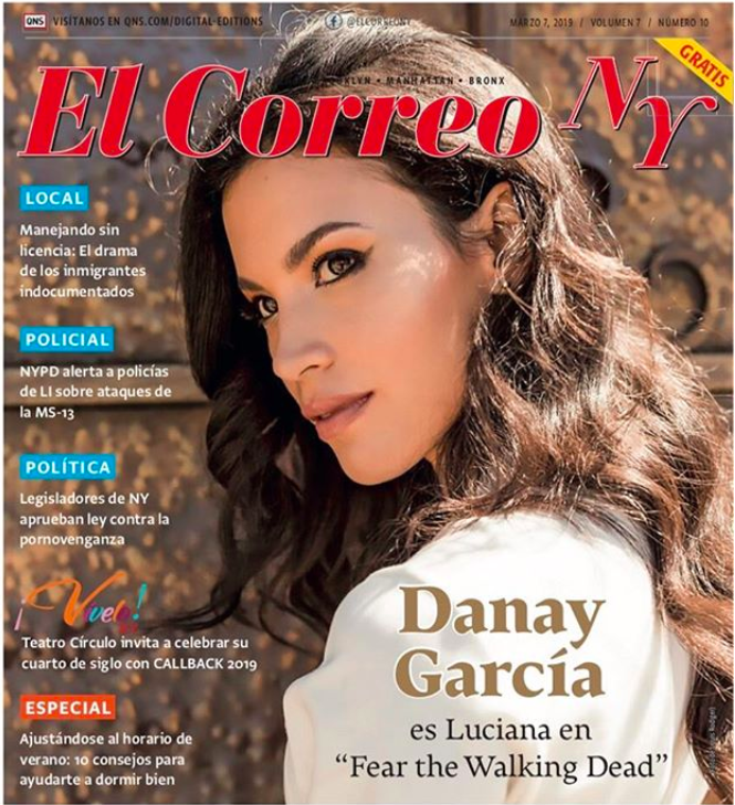 El Correo NY March 2019: Hair styling for Actress Danay Garcia