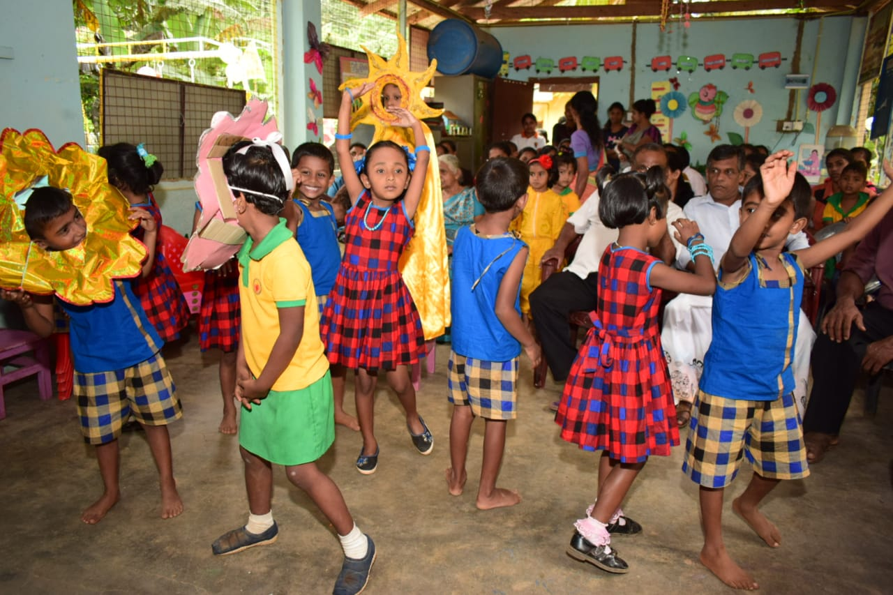 School in Sri Lanka supported by Bill Cook Foundation