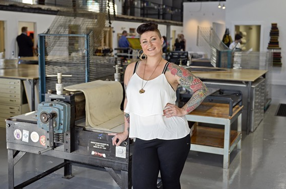 HIVE OF ACTIVITY: PRINTMAKING STUDIO TWO THREE DOES WHAT IT CAN TO KEEP ARTISTS IN RICHMOND    STYLE WEEKLY, JUNE 30, 2015