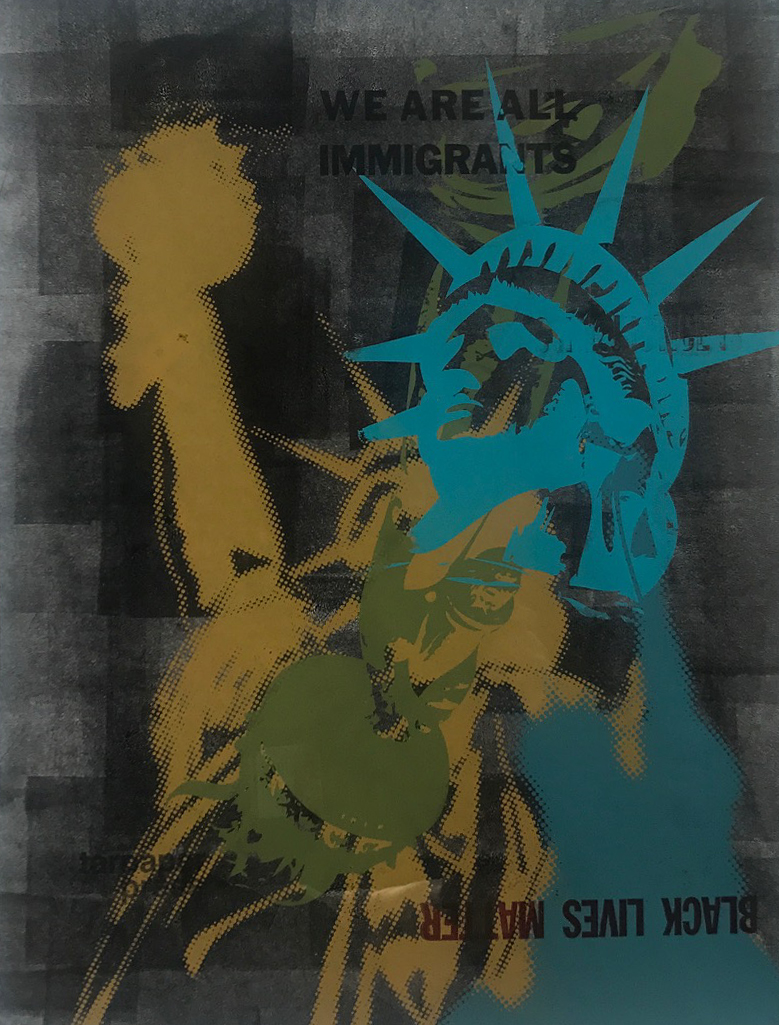 Copy of AIMEE JOYAUX, LADY LIBERTY IN DISTRESS