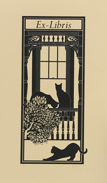 Copy of JACOB GREEN, BOOKPLATE 1