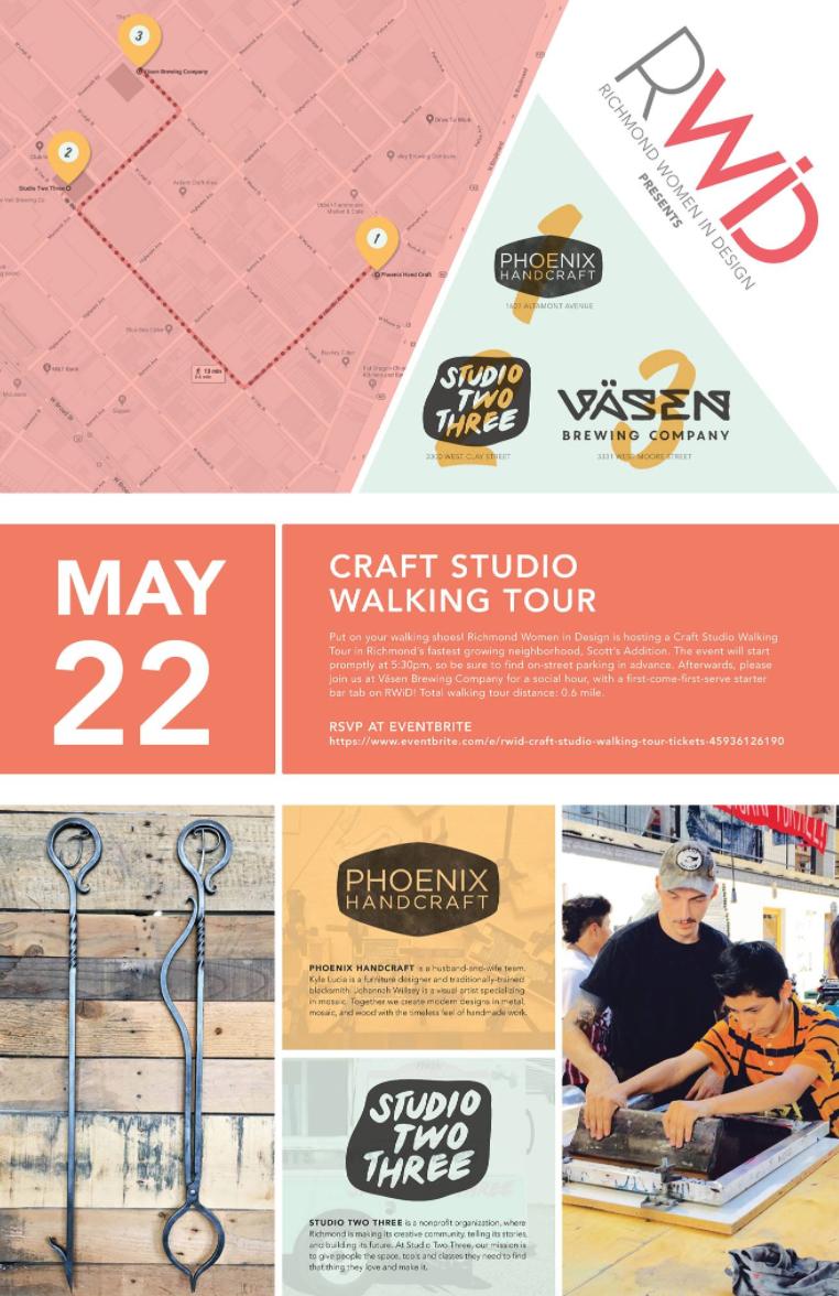 Studio Two Three | Richmond Virginia | art | graphic design | architecture | Scott's Addition | event rental